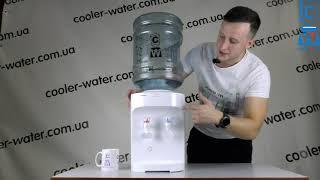 Обзор кулер для воды HotFrost D120E. Настольный кулер для нагрева и охлаждения воды.Кулер в офис,дом