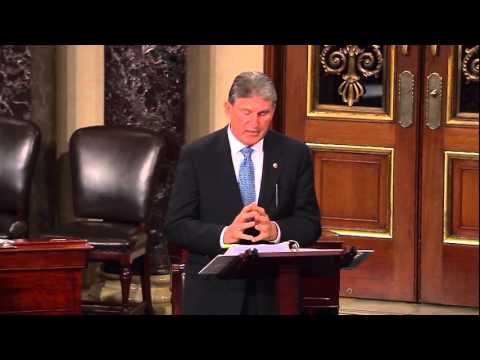 Manchin Delivers Remarks on the Senate Floor in Opposition to FDA Nominee Dr. Robert Califf