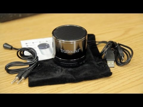 ST Audio Trusound Unplug Bluetooth Speaker Unboxing & Sound Test
