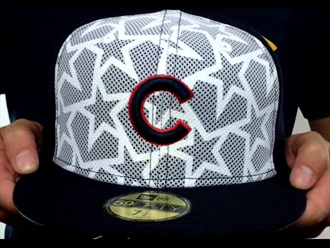86d8a6322ac Cubs  2016 JULY 4TH STARS N STRIPES  Fitted Hat by New Era - YouTube