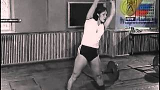 Javelin throw USSR film : Special exercises