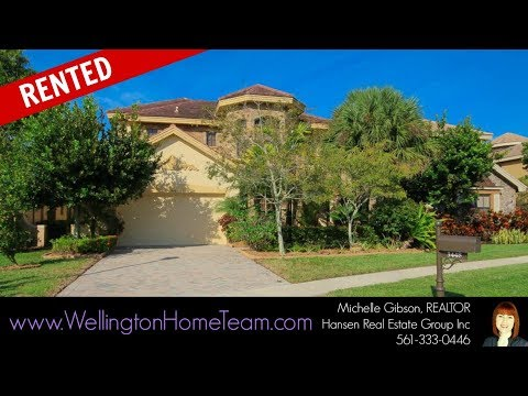 Versailles Homes for Rent in Wellington Florida 33467 | RENTED 3448 Collonade Drive