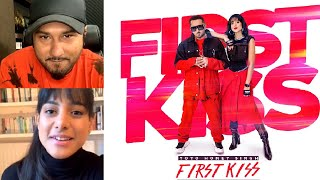 Gambar cover First Kiss | Yo Yo Honey Singh Live On Instagram With Ipsitaa | First Look of #FirstKiss