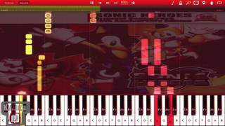 Synthesia - Sonic Heroes, Follow ME (Team ROSE) PIANO TUTORIAL