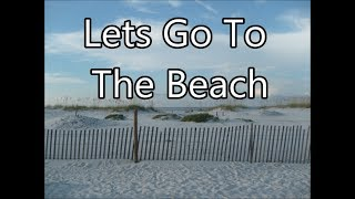 relaxing surf sounds  with My 1st video plus beach Boat races