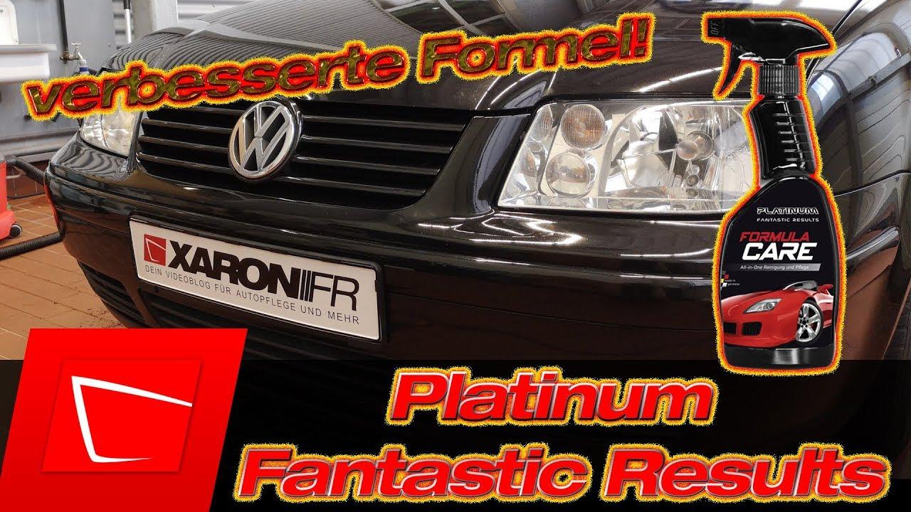 platinum fantastic results formula care test media. Black Bedroom Furniture Sets. Home Design Ideas