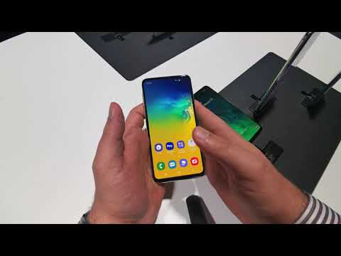 Samsung Galaxy s10e Hands on preview [Greek]