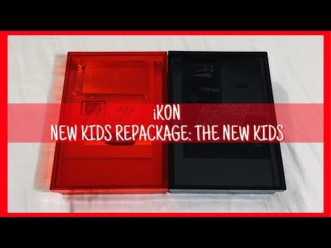 Download Unboxing Ikon New Kids Repackage Album Red Version