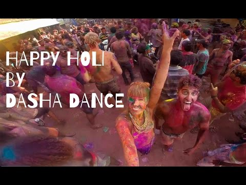 HOLI FESTIVAL 2015 in GOA by DASHA DANCE