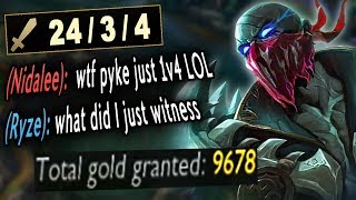 "They doubted ""nerfed"" Pyke Mid but he is stronger than ever before"