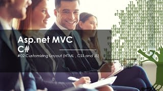 Asp.Net Mvc By C# - 02-Customize Layout (HTML , Css and JS).