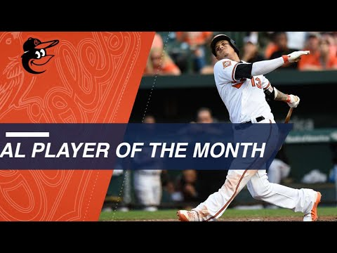 August AL Player of the Month: Manny Machado
