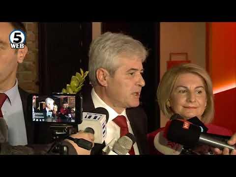 Еди Рама на средби со лидерите на партиите на Албанците во Македонија