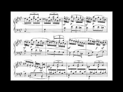 scarlatti sonata f sharp minor K25 - L481