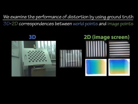Simultaneous Direct/Augmented View Distortion Calibration of Optical See-Through HMDs (ISMAR