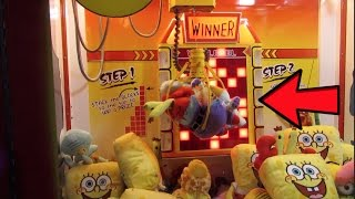 The STRONGEST! Claw Machine EVER! WON ALMOST EVERY TIME!