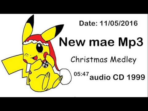 New Mae Mp3 Christmas Medley Classic Holy Band Audio CD 1999