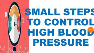 Control high blood pressure ...