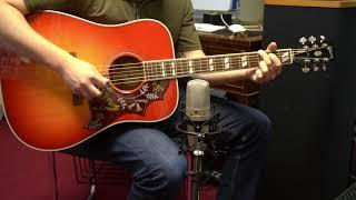 Gibson Hummingbird (2019) Acoustic Guitar Demo