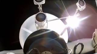 "Red Bull Felix Baumgartner NASA fish eye lens caught faking our reality ""Flat Earth"" GoPro"