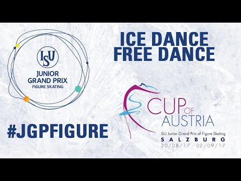 Salzburg - Free Dance - ISU JGP 2017