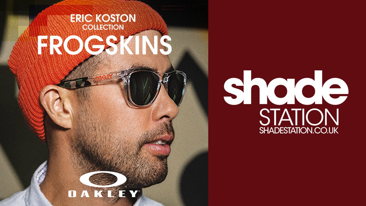 a39b3b8a9e4 Oakley Eric Koston Frogskins - YouTube