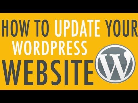 How to Update your WordPress Website