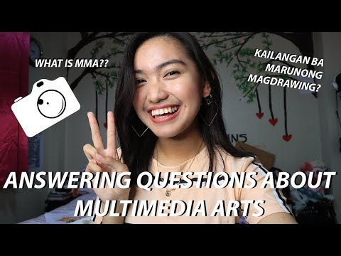 ANSWERING QUESTIONS ABOUT MULTIMEDIA ARTS (TIPS AND ADVICES, ENG SUB) | Geraldine Gallardo