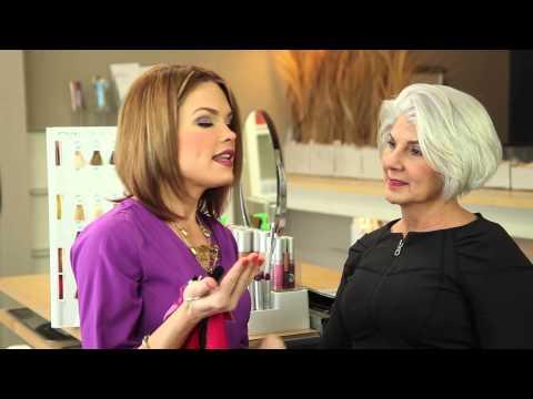Dress Color Advice for Grey Hair : Hair Color & Beauty Tips