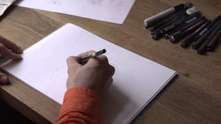 Surge así una Caricatura: BZ-Dibujante Thomas Muffler en Acción