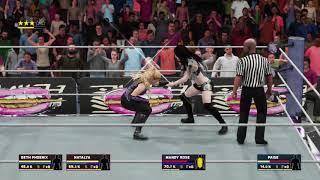 WWE 2K18 Team Natalya vs Absolution