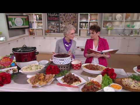 Fix-It And Forget-It Slow Cooker Champion Recipes On QVC