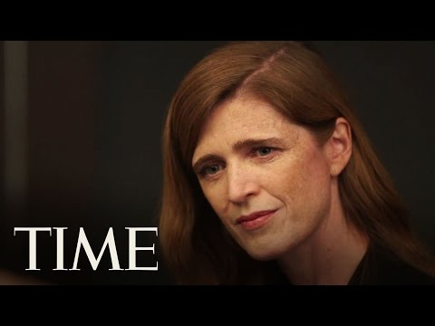 Samantha Power Behind The Scenes 100 | TIME