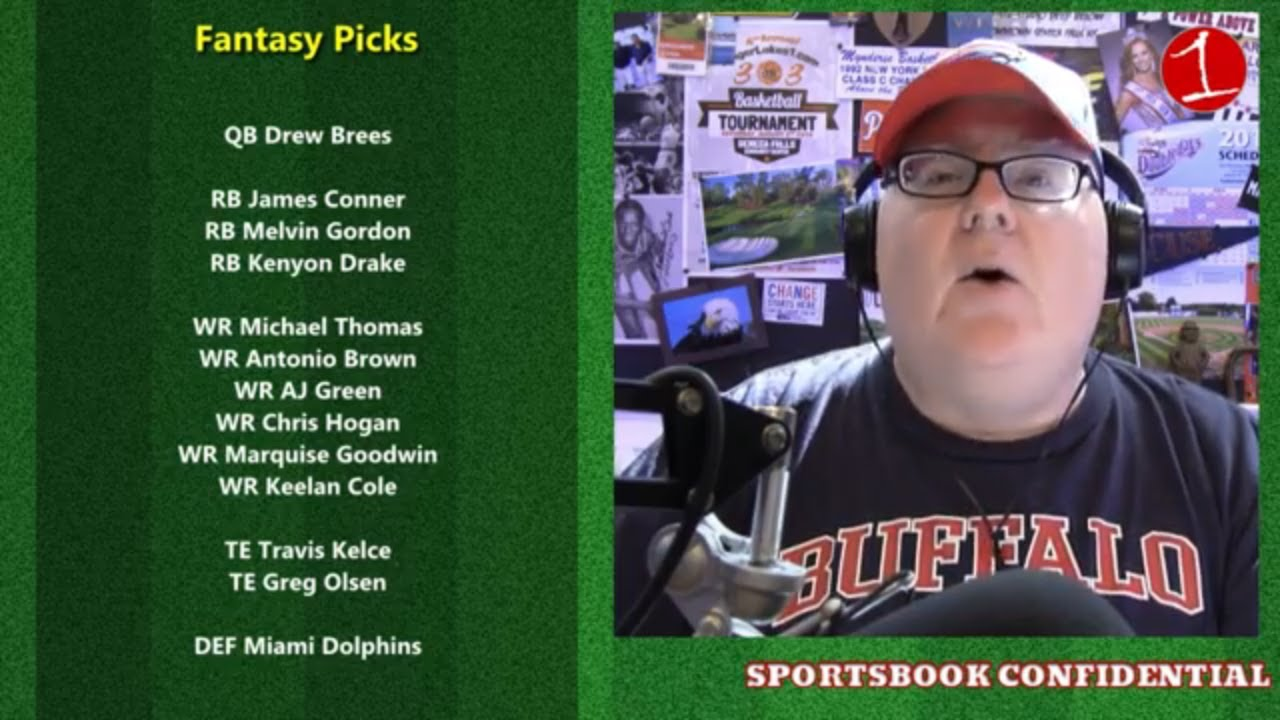 John Sullivan is prepped for NFL Week #1 .::. Sportsbook Confidential 9/7/18