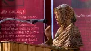 SOLIDARITY PEOPLE'S TRIBUNAL ON DRACONIAN LAW CASES; AK Fasila translating Maneesha Sethi's speech