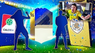 ICON AND 95 TOTS IN THE SAME PACK!! FIFA 18!