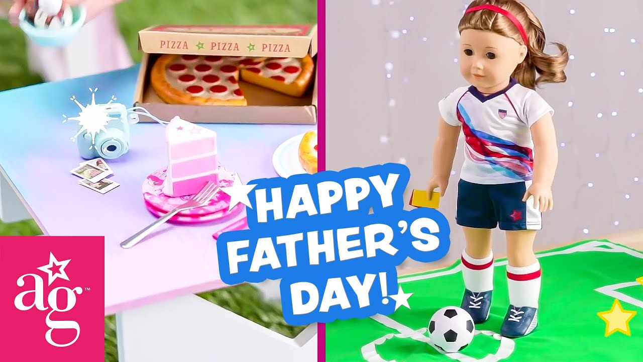 Fun American Girl Crafts and Activities for Father's Day! ⛳️ | @American Girl