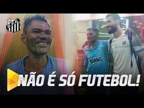 ELE PERCORREU 240Km PARA VER O SANTOS!