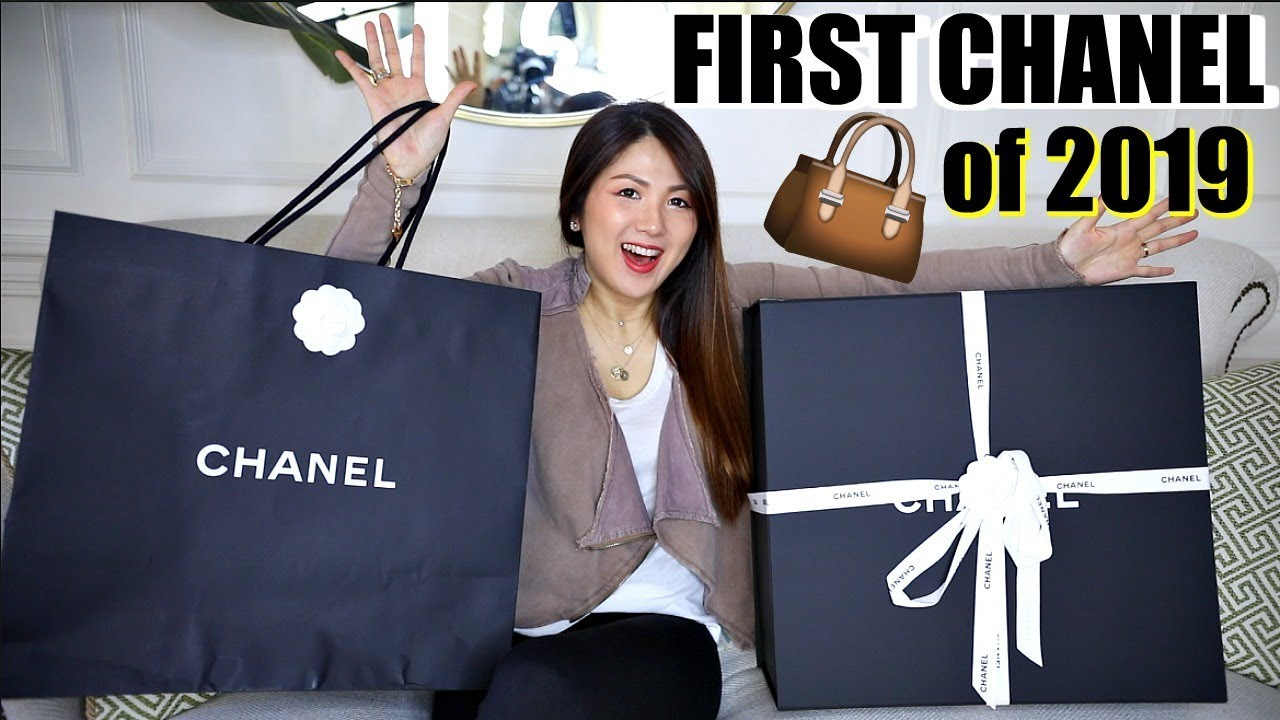 3ea919e19c48b7 FIRST CHANEL BAG UNBOXING OF 2019 | CHARIS ❤ - YouTube