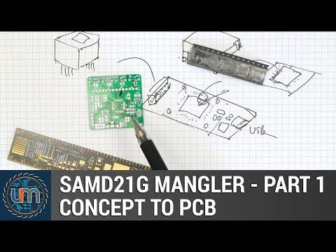 Atmel SAMD21 sensor data logger by Mike Rankin by Drew Fustini