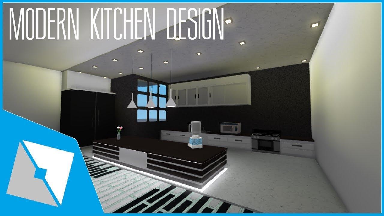 ROBLOX Studio SpeedBuild Modern Kitchen Design YouTube