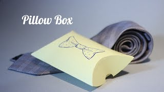 How to - Pillow Boxes DIY