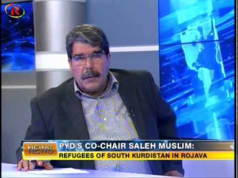 Ronahi TV Interview with Salih Muslim Part 2