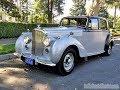 1951 Bentley Mark VI Saloon for Sale