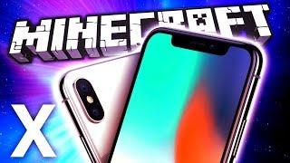 iPhone X - Playing MINECRAFT