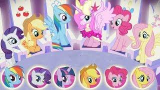 My Little Pony: Harmony Quest Magical Adventure Kids Game - All Best Pony vs Luna Princess