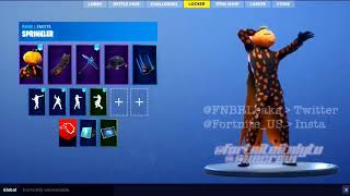 NEW SPRINKLER EMOTE! (Leaked) | Fortnite