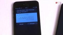 Reconnaissance vocale : l'épreuve du SMS