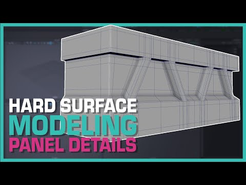 Maya Hard Surface Modeling: Panel Details thumbnail