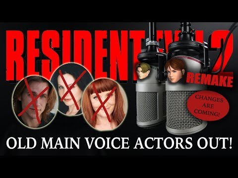 Resident Evil 2 Remake | New RE2 Remake Voice Actors | CHANGES ARE COMING